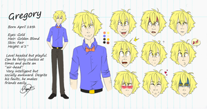 Character Sheet - Gregory by Kirkia