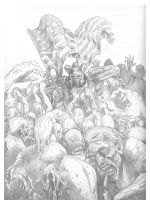 Mobbed 2 Pencils by Mumah