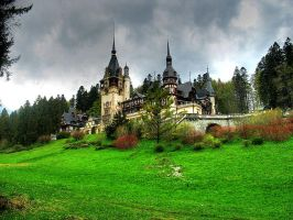 Peles Castle 3 by TheMsmadcookie