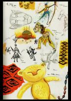 The lion king Broadway Studies! 1 by TheColdSoul1888