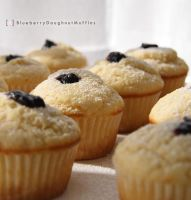Blueberry Doughnut Muffins by theachmadis
