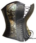 Leather corset by tupali