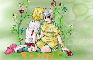 Respect - UEFA EURO 2012 by TatsuyaKuroda