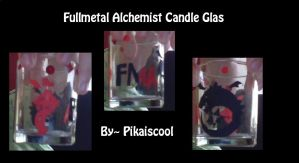 FMA Candle Glass -self made- by PikaIsCool