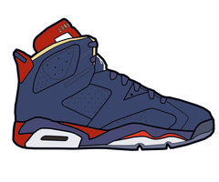 Jordan VI 'Doenbecher' Sketch by MattisamazingPS