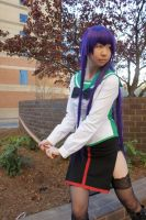 Saeko Busujima - Battle Ready by Pui-ki