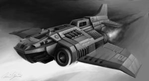 Imperial Thunderbolt by Luftwaffles