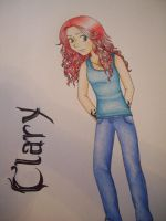 Clary Fray by kandeegirl12