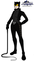 Batman: Dark Detective - Catwoman 2011 by HewyToonmore