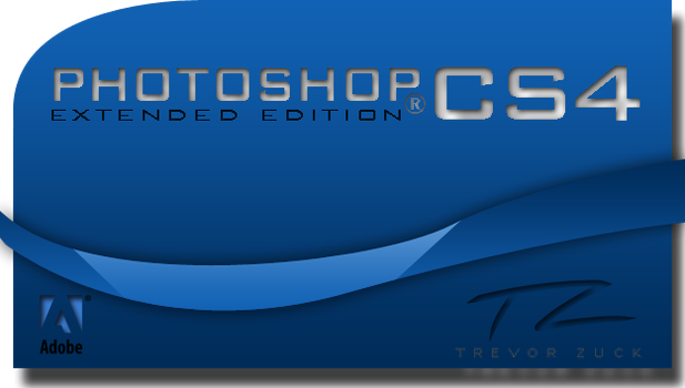 Photoshop CS4 Splash Screen by Tzuck