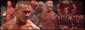 Randy Orton, One Man Dynasty! by Claine89