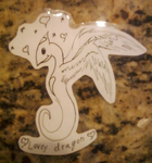 Laminated Critters: Lovey Dragon by Ralola