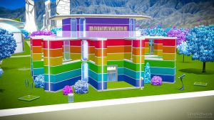 The Rainbow House by snwgames