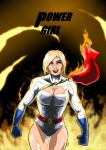 Power Girl - Through Fire by adamantis