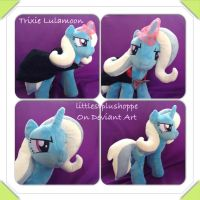 Trixie  Lulamoon inspired plush FOR SALE by Littlestplushoppe