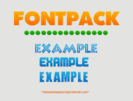 Font PACK | FREE by Romina-panquesito
