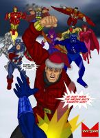 Wonder Man Christmas Card 2010 by wondermanrules