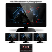 Gamer's Interface Halo 4 pack by Designfjotten