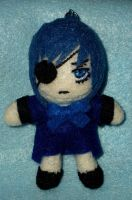 Ciel Phantomhive Plush Keychain by TashaAkaTachi