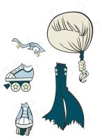 Milky Way Paper Doll Outfit 3 by fyre-flye