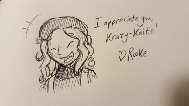 Appreciation Month - Kaitie by DragonwolfRooke