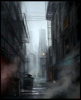 Dark Alley by Hideyoshi