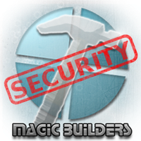 Magic Builders Security Logo by TacoApple99