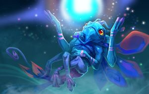 dota2 Puck by biggreenpepper