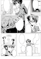 Project K : Doujin page by rairy
