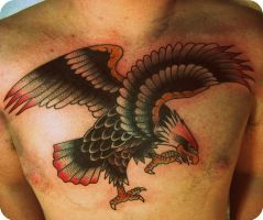 eagle chest by xveganmafiax