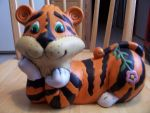 Cartoon Tiger by MadForHatters