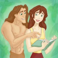 Tarzan and Jane by Dresstolive