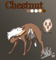 Chestnut ref sheet by xAshleyMx