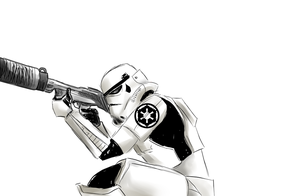 Imperial Trooper by Zanpakuto-Leader