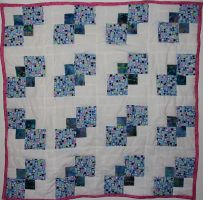 Jada's First Quilt by PinkSweaterVest