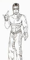 MK: Johnny Cage Redesign by sheppyboy2000