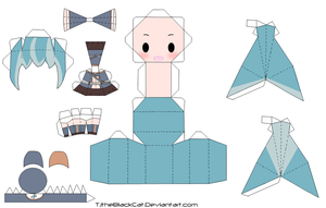Do Re Mi Fa Rondo Miku Papercraft by Tamuu-ii