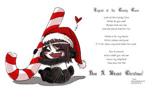 Legend of The Candy Cane by PsychedelicMind
