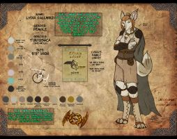 Lydia REF by LikelyLupine