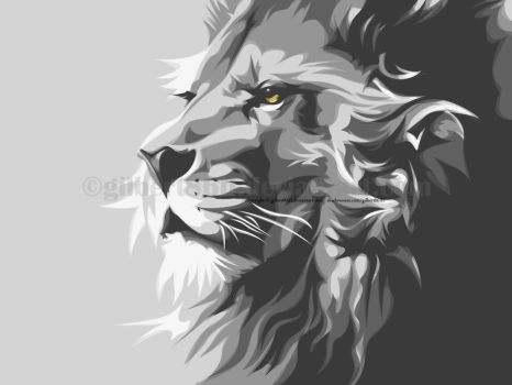 the lion by gilbert86II