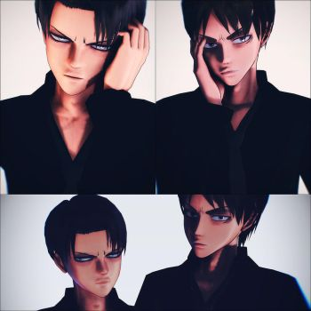 Levi/Eren by Chii-Chan666