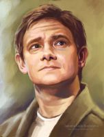 Martin Freeman by ladunya