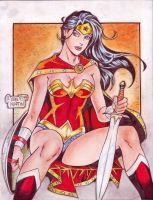 Wonder Woman (#21) by Rodel Martin by VMIFerrari