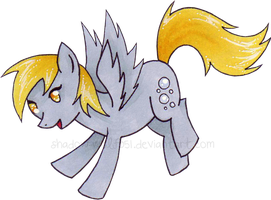 Derpy Hooves by shadow-wolf051