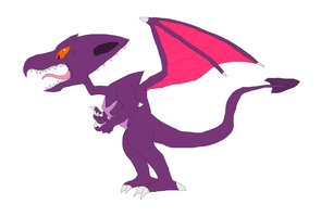 Metroid-Ridley by GarchompKing1216