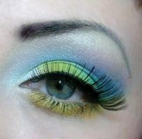 rainbow by munstermakeup