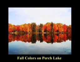 Fall Colors on Perch Lake by AG88