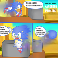 Hardcore Parkour! by thegamingdrawer