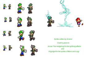 Mr. L sprites by Noland005