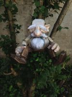 Dwarf in papercraft by IVMgreco
